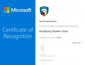 Amplifying Student Voice -1