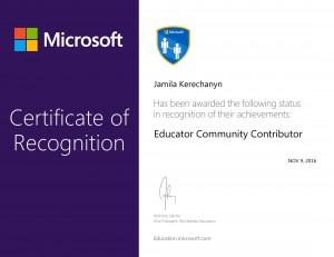 Educator Community Contributor-1