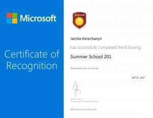 Summer School 201-1
